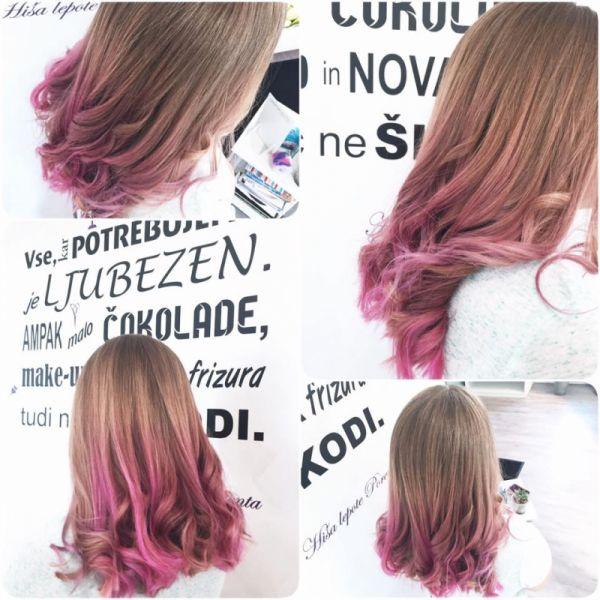 Barvanje konic las