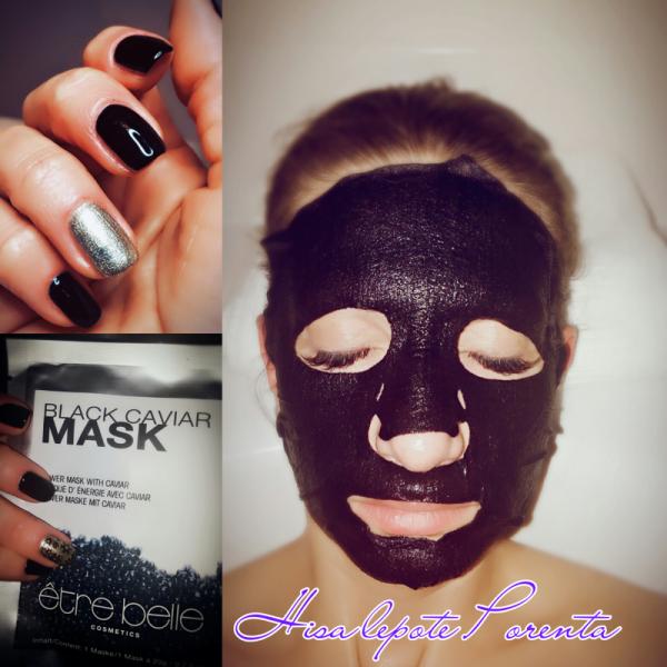 Nega kože s črno masko