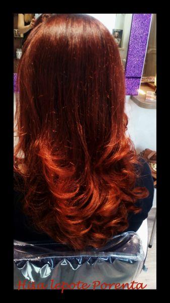 Barvanje rdečih las
