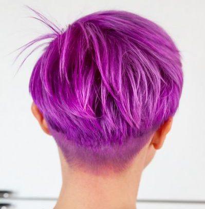 Barvanje kratkih las